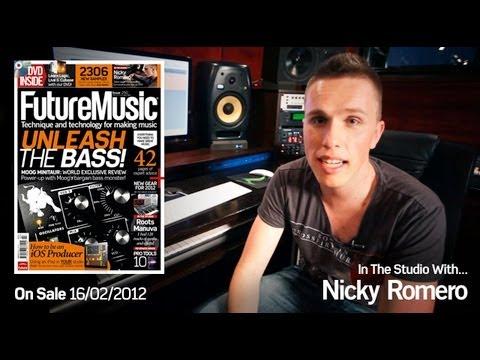 Nicky Romero In The Studio With Future  Magazine issue 250