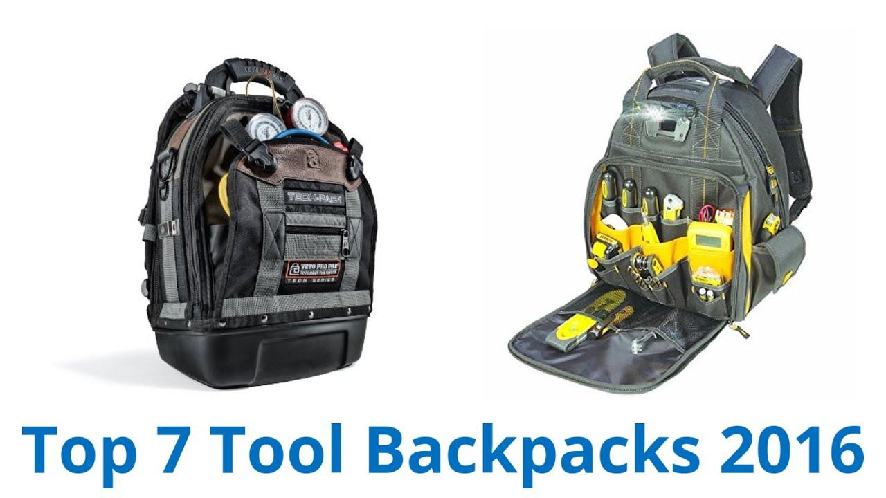 7 Best Tool Backpacks 2017