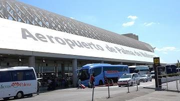 4K Mallorca Airport - Palma de Mallorca (Ultra HD)