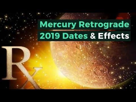 Mercury Retrograde 2019 Dates Effects - Vedic Astrology