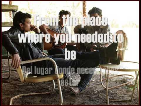 Jonas Brothers-Fly with me Lyrics/English Letra /Español