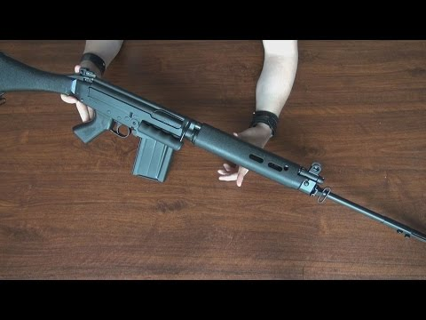 (Airsoft) Unboxing the L1A1 SLR ARES Airsoft