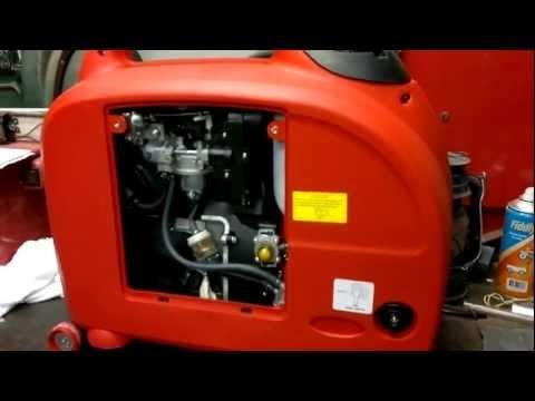 Fuji Micro XG-SF3700 Inverter Generator First Startup