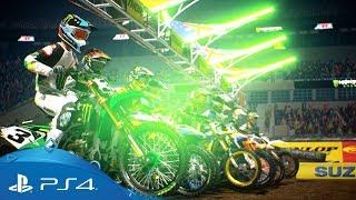 Monster Energy Supercross 2 | Announcement Trailer | PS4
