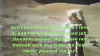 Moon Landing Hoax Apollo : Lunar Rover Ran on Fuel -Exhaust Farts in The Fake Moon Bay