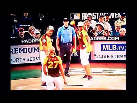, 7/10/16 LEGENDS/CELEBRITY GAME  , MLB ALL-STAR WEEKEND