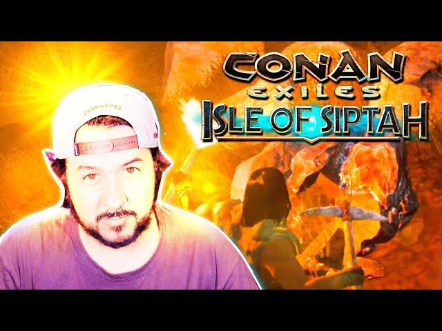 AVANZANDO A LA EDAD DEL METAL! #3 | CONAN EXILES: ISLE OF SIPTAH | GAMEPLAY ESPAÑOL