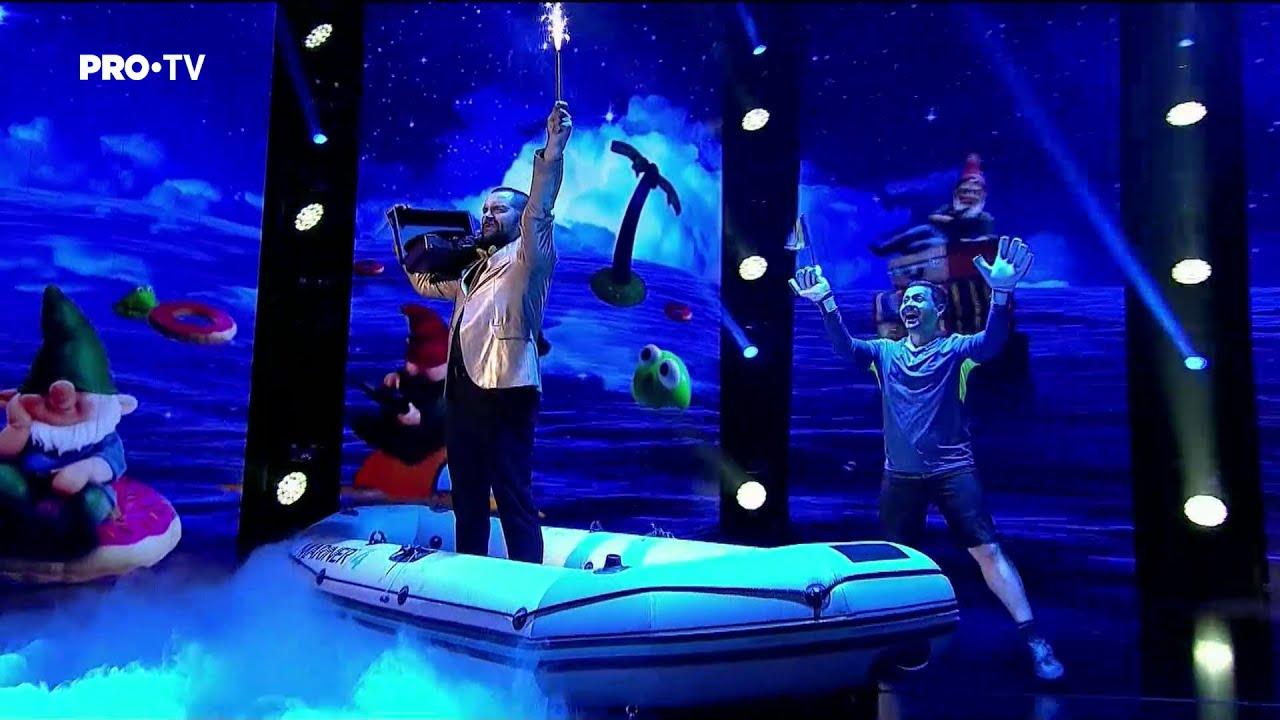 Românii au talent 2021: Finala – Magitot (prestaţie) – stand up + magie
