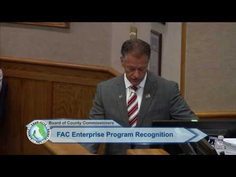 Charlotte County Board of County Commissioners announce FAC Award