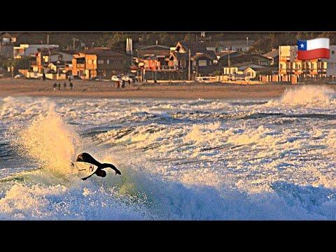 PLAYA EL ABANICO - MAINTENCILLO PRO SURF - DRONE CHILE