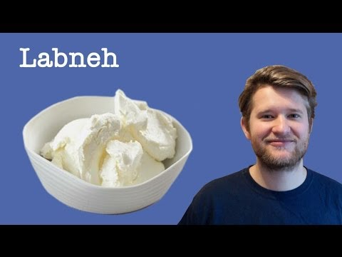 Easy Soft Cheese Recipe (using Yoghurt) - Labneh