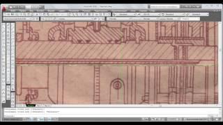 Проектирование турбогенератора в AutoCad 2010. Урок 2-Первый этап создания проекта . Часть 1