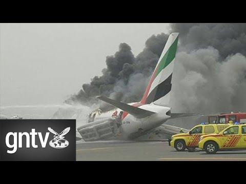 Emirates plane makes emergency landing at Dubai airport, all passengers safe