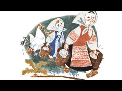 Русская народная сказка.У страха глаза велики