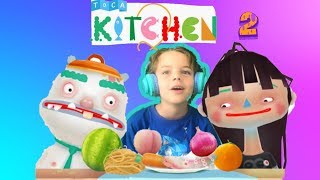 Toca Kitchen 2 - Cooking Kitchen Game (Cole's game play review)
