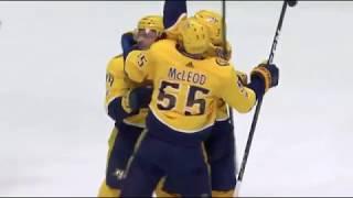 Samuel Girard First NHL Goal vs DAL October 12, 2017