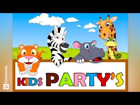 NIÑOS CANCIONES INFANTILES/KIDS PARTY SONGS las mas divertidas ronda infantiles,Favorite Kids' Songs