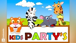 NIÑOS CANCIONES INFANTILES, KIDS PARTY SONGS, Favorite Kids' Songs, Ronda Infantiles, Musica