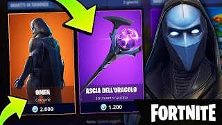 I BUY the SKIN OMEN and ORACOLO! Fortnite Mobile Royal Victory