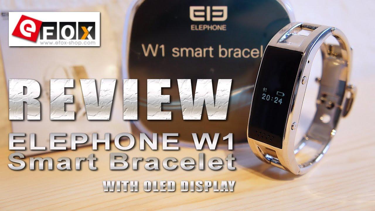 Elephone W1 Elegante Smartwatch for Girls [REVIEW & TEST ...