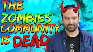 THE ZOMBIES COMMUNITY IS DYING?! (WHY?) // PIZZA PODCAST #1 w/ CH0PPER!