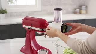 Herstellervideo: KitchenAid Zubehör Gemüseschneider