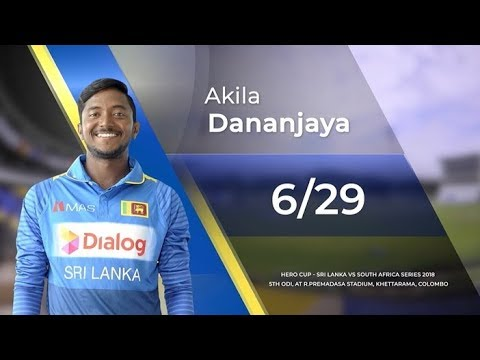 Akila Dananjaya's 6 wickets vs South Africa Mp3