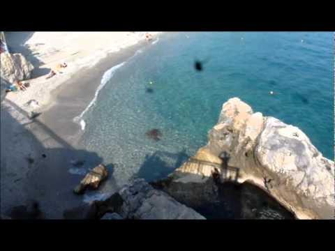 SPIAGGIA DI BERGEGGI-SPOTORNO, 25-9-2011 ORE 15.49 - YouTube