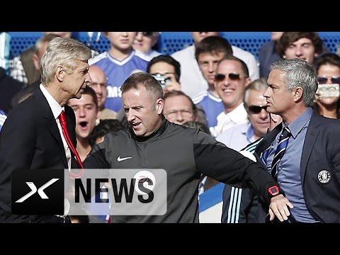 Kein Sieger Bei Jose  Mourinho Vs. Arsene Wenger | FC Chelsea - FC Arsenal 2:0