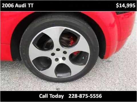 2006 Audi TT Used Cars Ocean Springs MS
