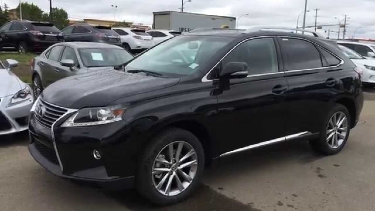 2015 Lexus Rx 350 Awd Technology Package Review  Black On