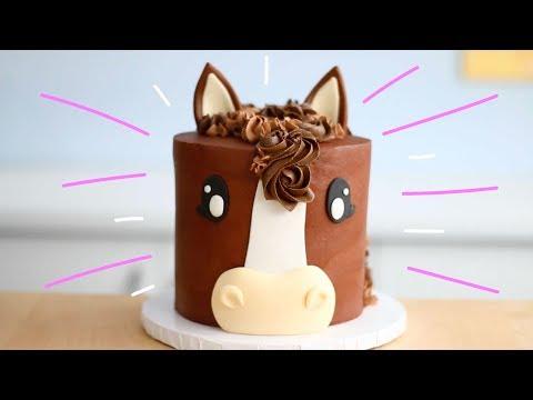 Chocolatey HORSE CAKE!