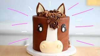 Chocolatey HORSE CAKE!