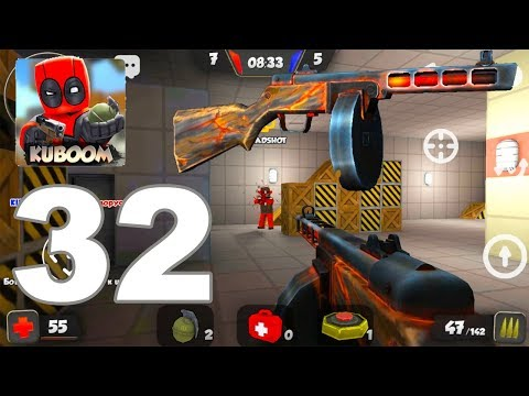 Kuboom - Gameplay Walkthrough Part 32 - PPSH TEST, NEW SKIN (Android Games)