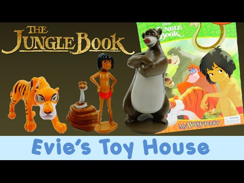 The Jungle Book My Busy Book and Kids Toys Unboxing and Review | Evies Toy House