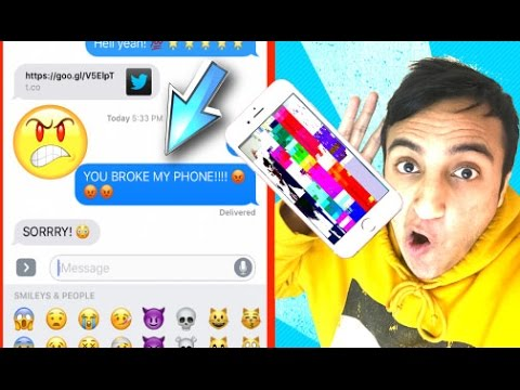This 5-Second Video Will CRASH ANY iPhone!!! **NEW WORKING LINK** iOS 10/iOS 9 Prank Your Friends