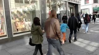 Reisebericht - 10 Tage Skandinavien -Karl Johans Gate in Oslo