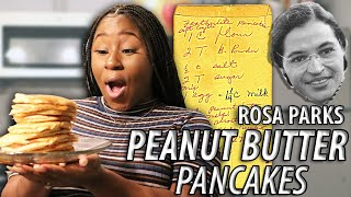HOW TO MAKE PANCAKES WITH PEANUT BUTTER!!!