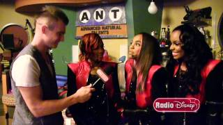 Go on the Set of A.N.T.Farm with The McClain Sisters | Radio Disney