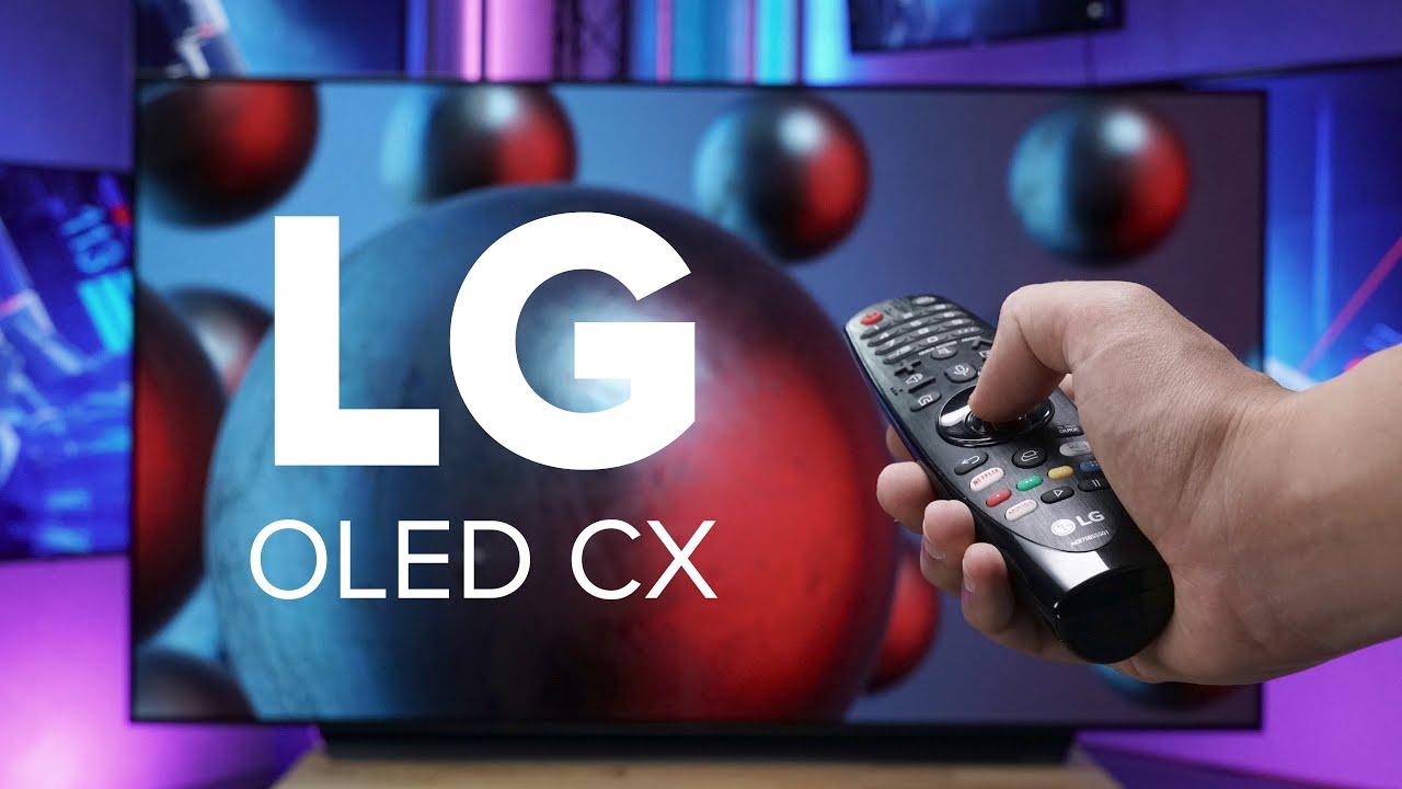 Kann OLED auch günstig?   LG OLED CX65 im Test   Computer Bild [deutsch]