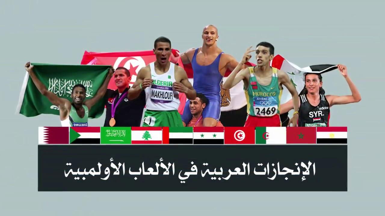 ترتيب الدول العربية في الألعاب الأولمبية