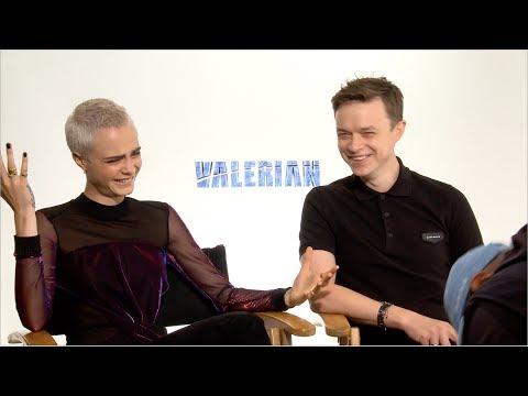 Valerian Interviews: Rihanna's Lips, Jay-Z's Album & Action Scenes
