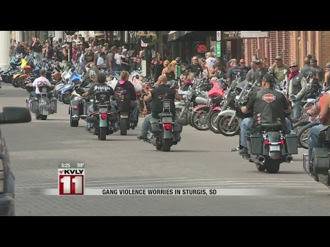 Gang Violence Worries In Sturgis, SD