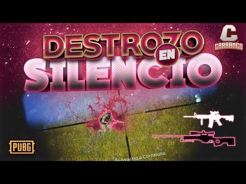 DESTROZANDO CON AWM + M4 SILENCIADAS - DUO - PLAYERUNKNOWN'S BATTLEGROUNDS (PUBG)   - Carranco