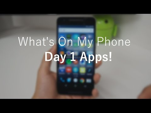 What's On My Phone: Day 1 APPS!