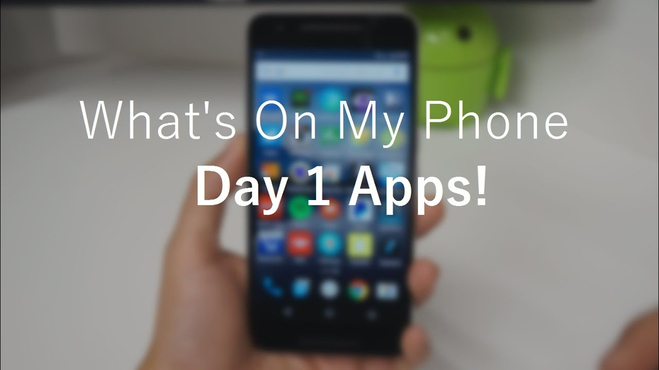 What's On My Phone: Day 1 APPS! - YouTube