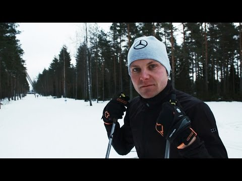 Extreme Winter F1 Training with Valtteri Bottas