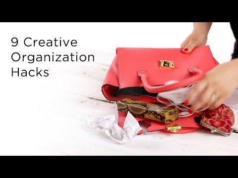 9 Creative DIY Organization Hacks