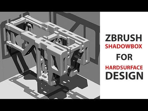 Zbrush Shadowbox for Hardsurface Design