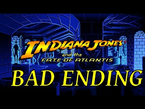 Indiana Jones and the Fate of Atlantis Bad Ending
